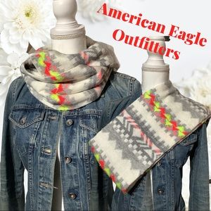 American Eagle - Infinity Scarf neon colors warm